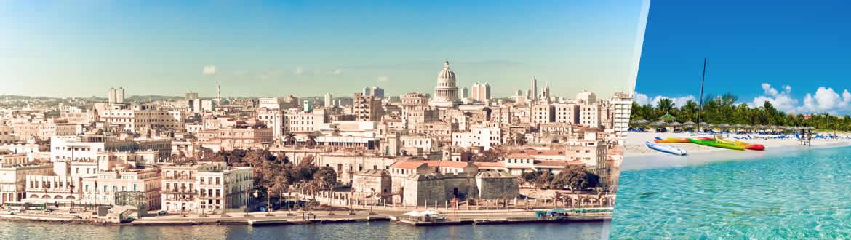 Cuba: Havana and Varadero, tailor-made including beach holiday