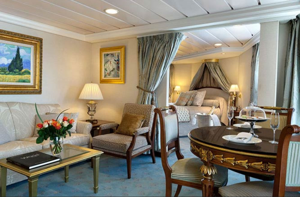 Ship categories and cabins Insignia, Oceania Cruises
