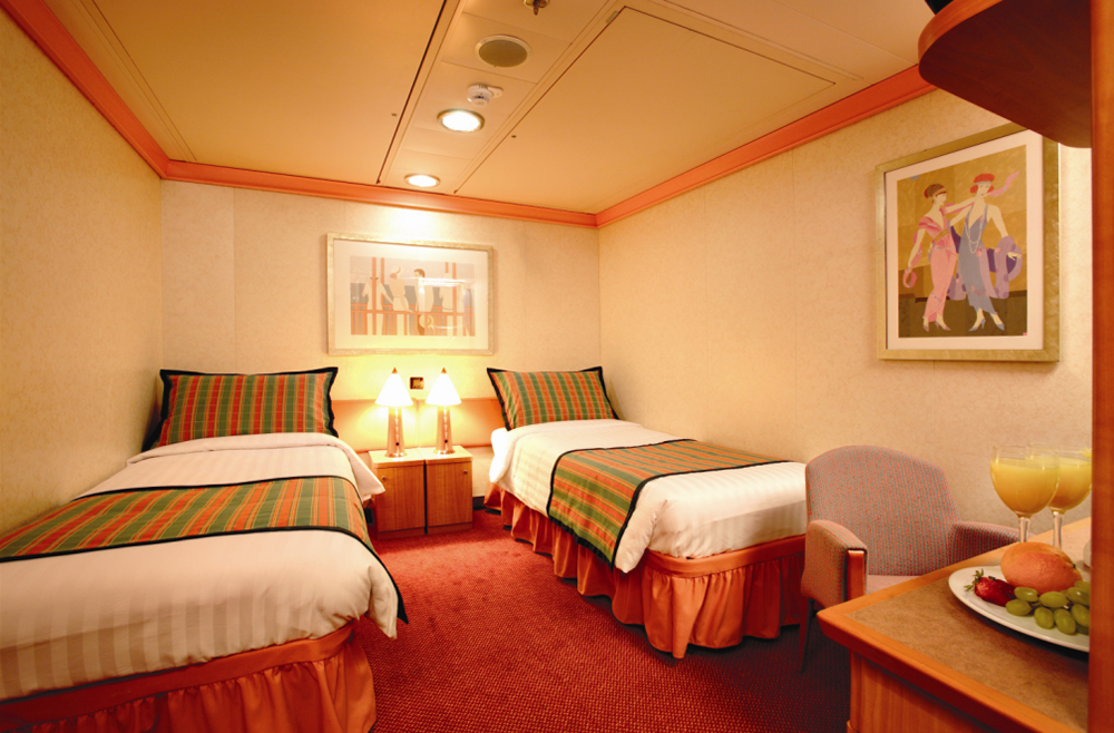ship categories and cabins costa fortuna, costa cruises - logitravel