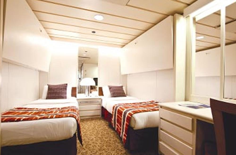 Ship Categories And Cabins Horizon Pullmantur