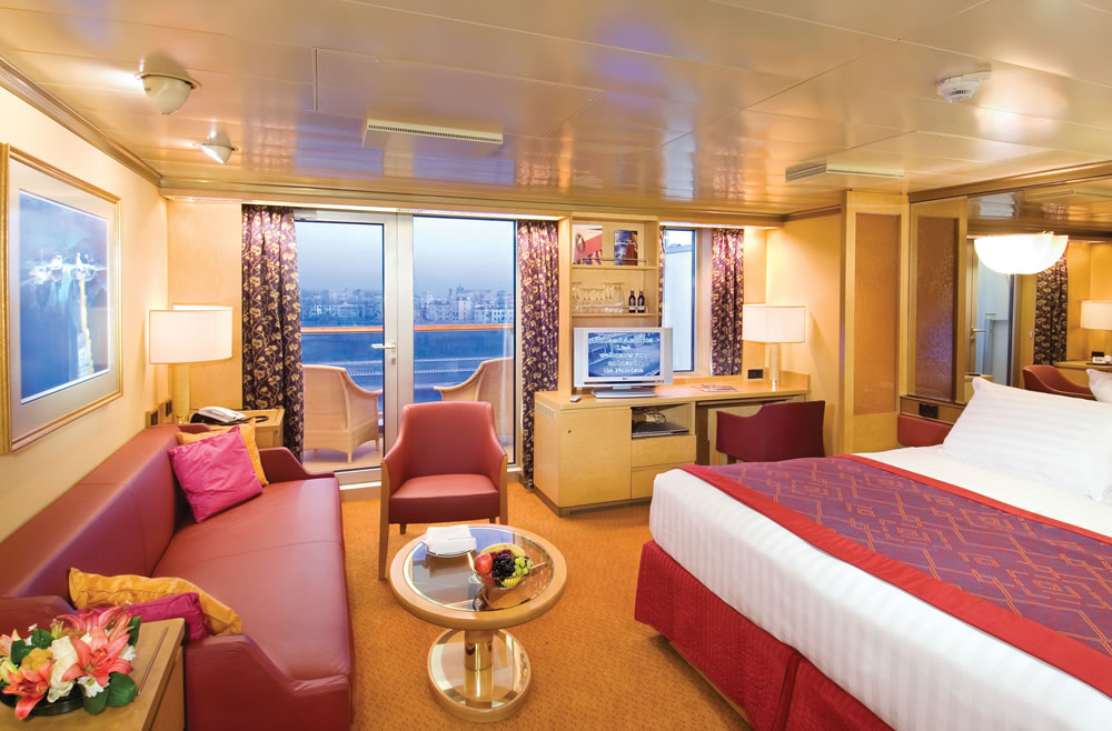 Westerdam Cruise Accommodations, Staterooms and Suites