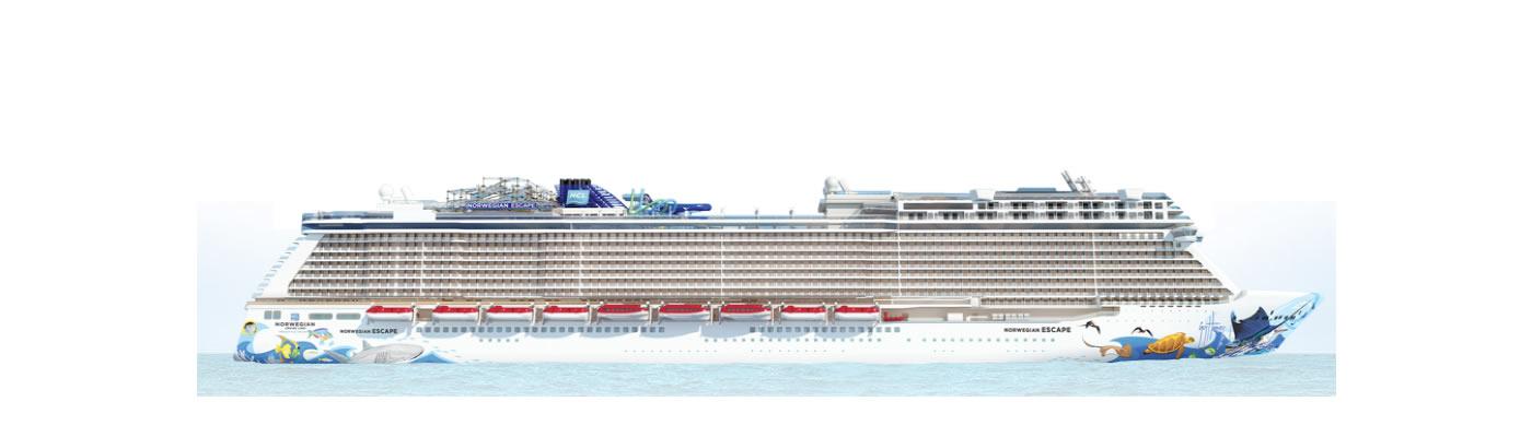 Deck Deck 9 Of The Ship Norwegian Escape Norwegian Cruise