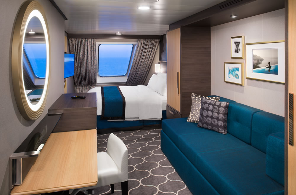 Deck Cubierta 9 Of The Ship Ovation Of The Seas Royal