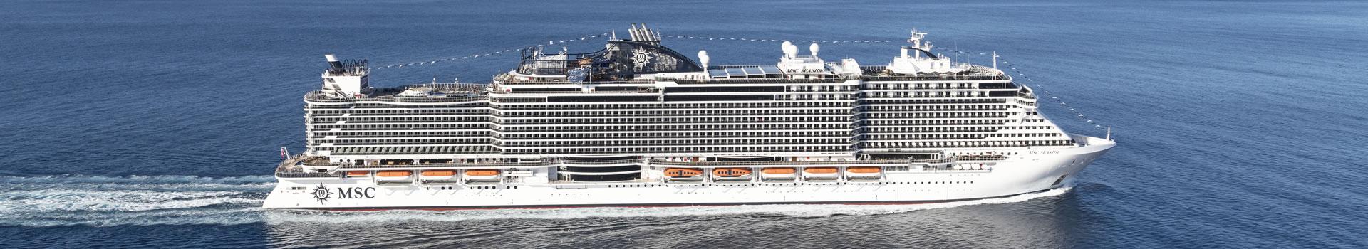 technical details MSC Seaside, MSC Cruises - Logitravel
