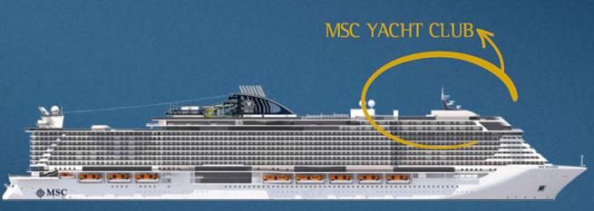 Ship categories and cabins MSC Seaside, MSC Cruises - Logitravel