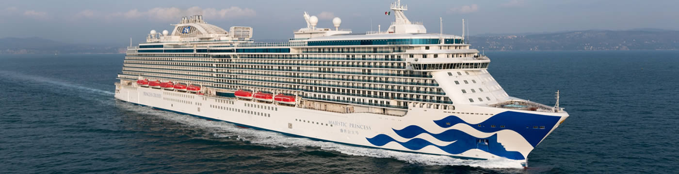 Ship Reviews Majestic Princess Princess Cruises Logitravelcouk - Princess cruise ship fire