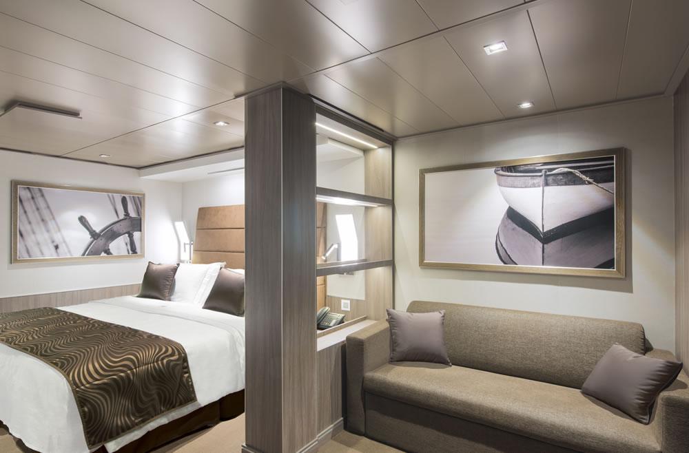 Výsledek obrázku pro seaside cruise msc cabin interior
